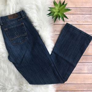 Lucky Brand Sofia Boot Dark Wash Jeans Size 8/29